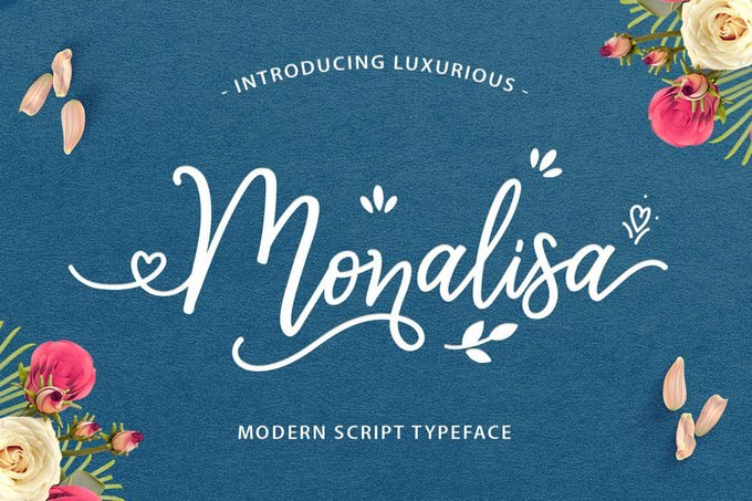 Monalisa Luxurious Font