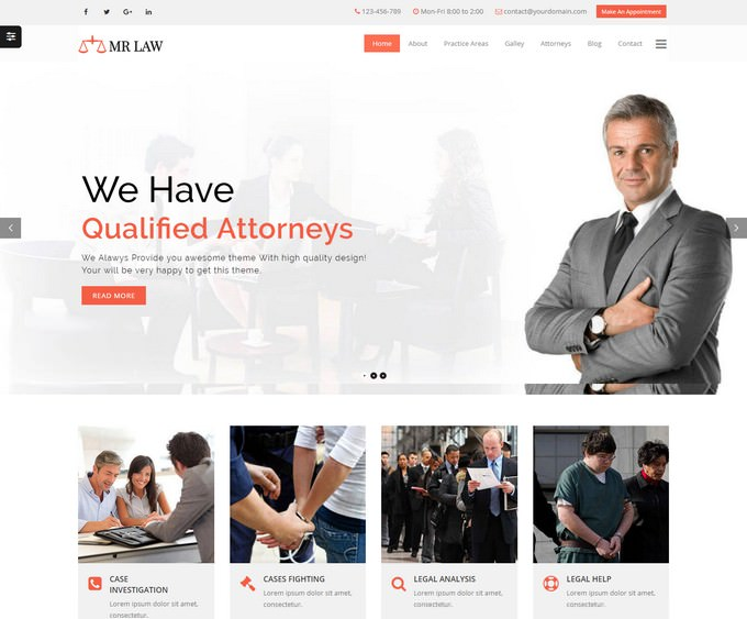 Lawyer Attorney and Law Firm