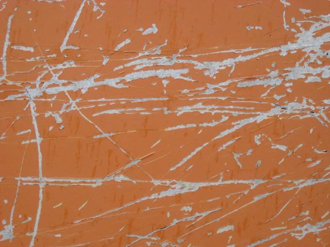 Orange Scratch Texture