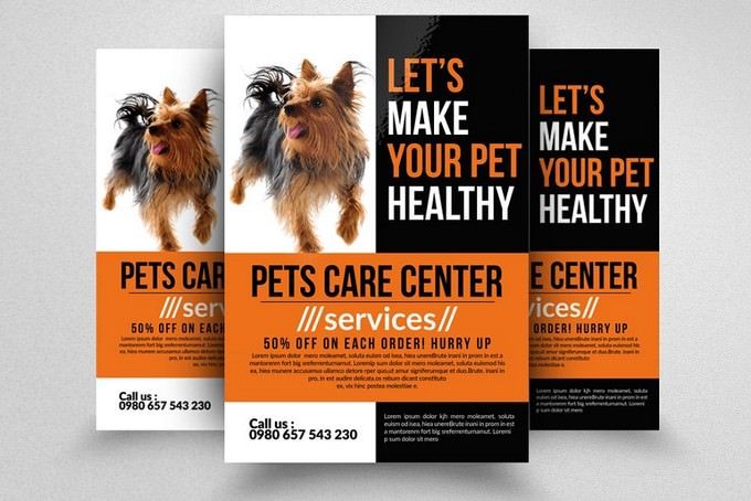 Pet Care Center Flyer