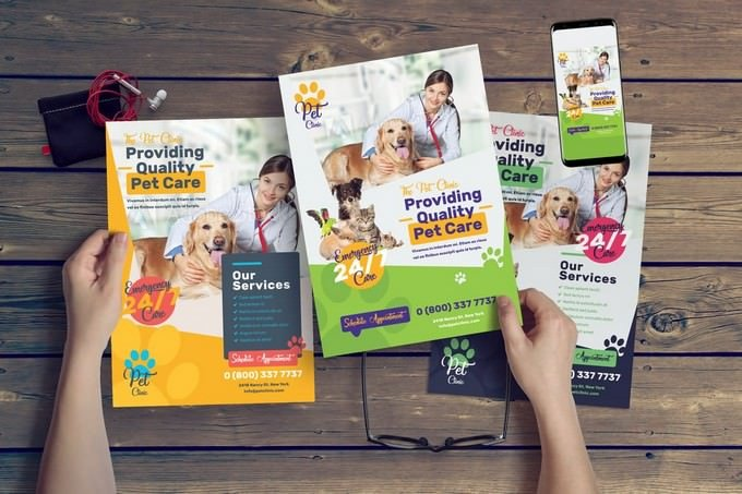 Pet Clinic Flyer