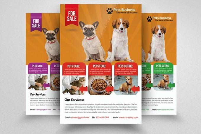 Pet Store Business Flyer
