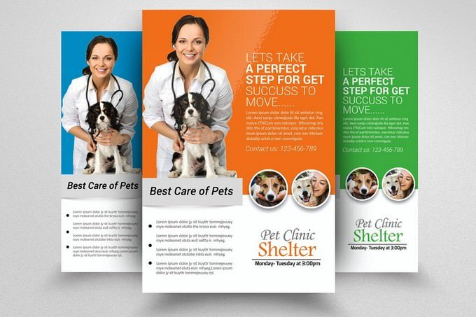 Pets Clinic Flyer