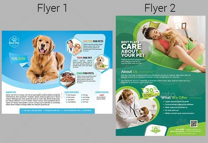 Pets Flyer Template
