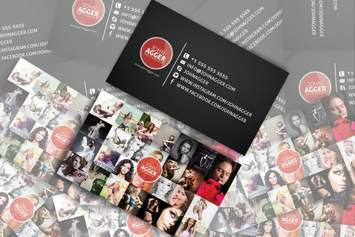 Photographer - Business card