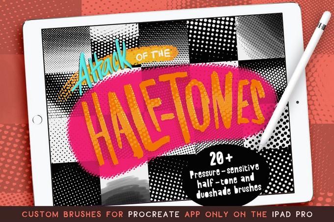 Half-tones i-pad pro