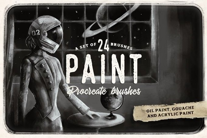A set of 24 paint