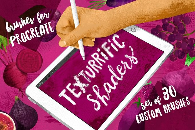 Texturrific Shaders for Procreate