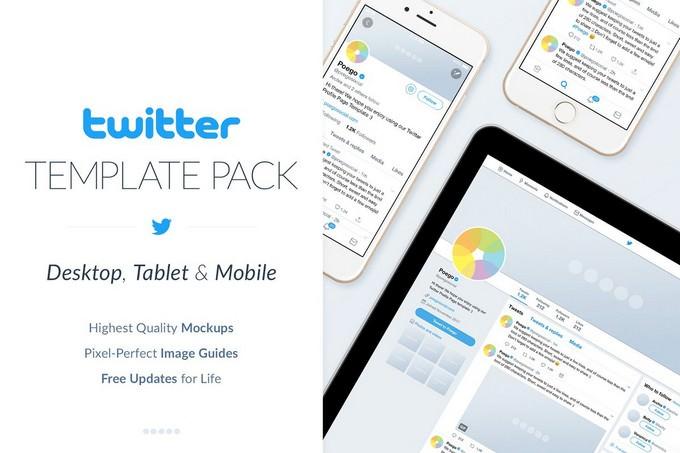 Twitter Social Media Template