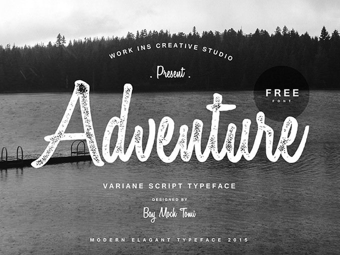 Download 25+ Fantastic Adventure Fonts For Your Design - Templatefor