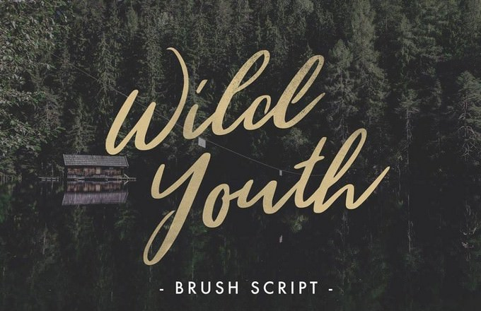Wild Youth Adventure Font
