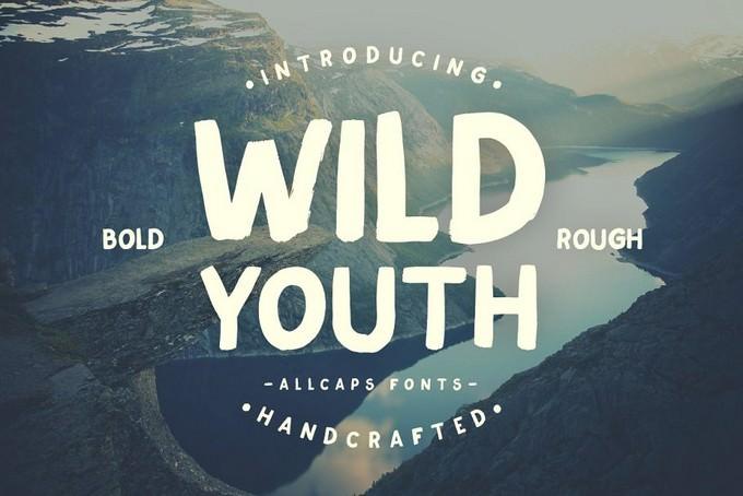 Wild Youth Adventure Typeface