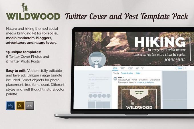 Wildwood Twitter Templates