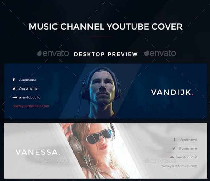 Youtube Music Channel Art