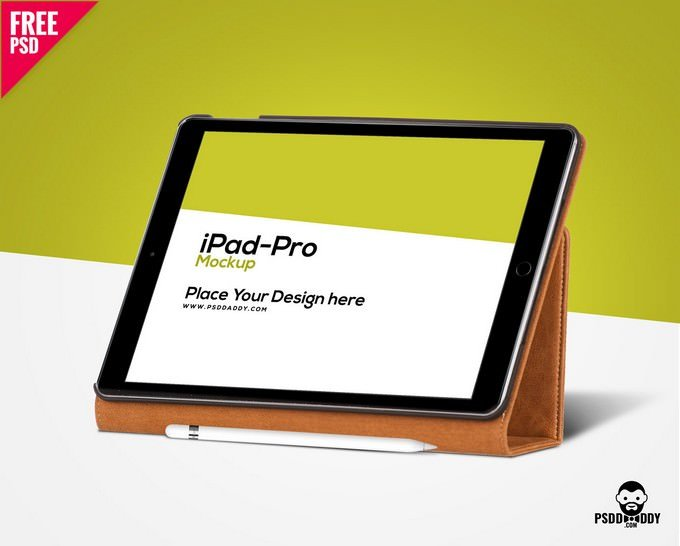 iPad Pro Mockup Free PSD