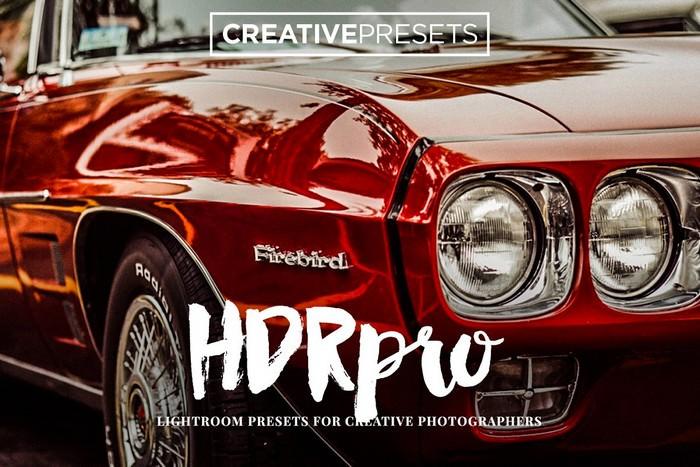 HDR PRO - Lightroom Presets