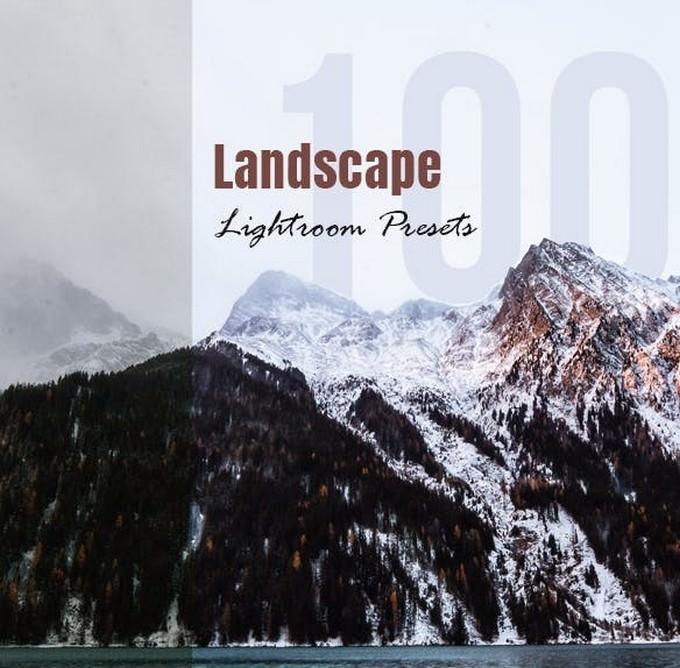 100 Landscape Presets