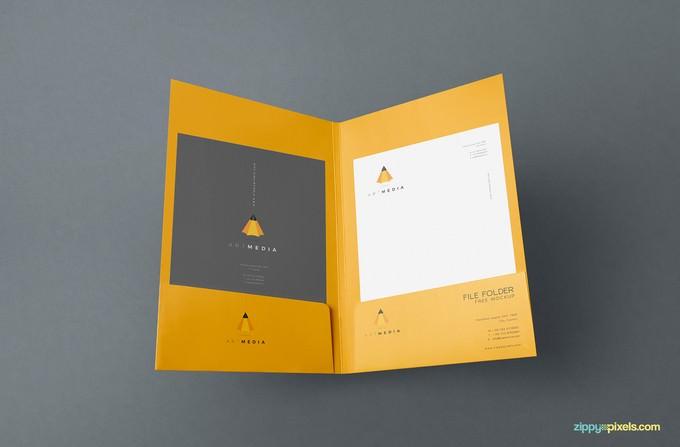Outstanding Folder Mockups