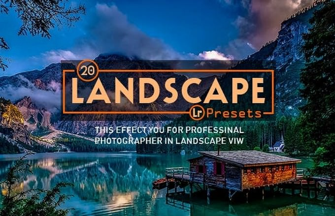 20 Landscape Lightroom