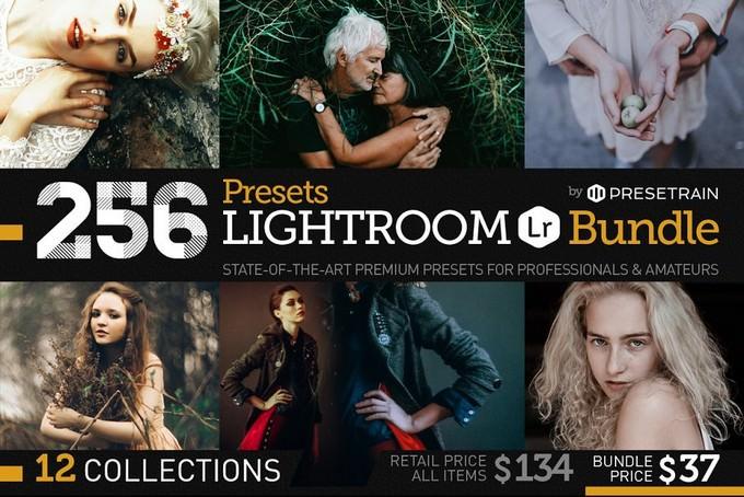 256 Lightroom Presets Bundle