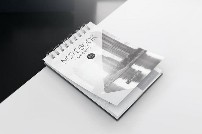 A6 Spiral Notebook