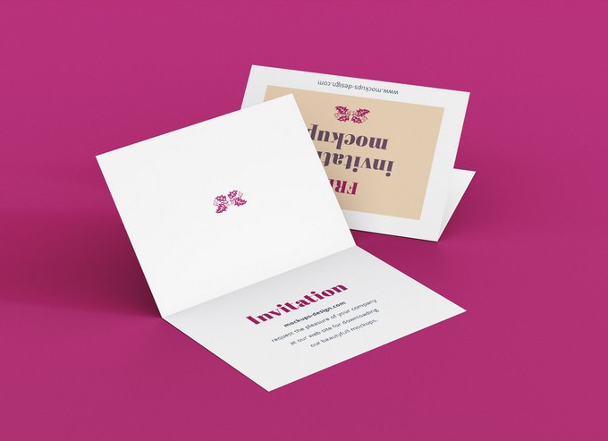 A7 Bi-Fold Greeting Card