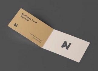 Folded Card Mockups