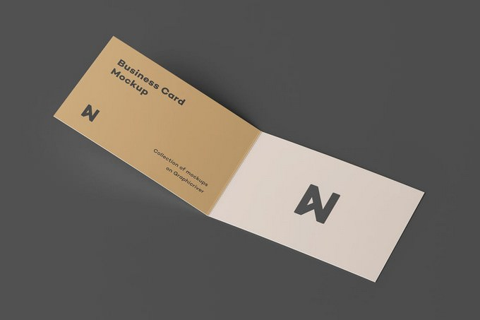 Bi-Fold Business Card