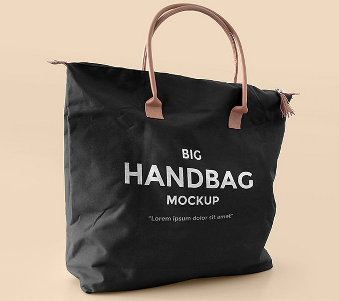 Big Shopping Handbag