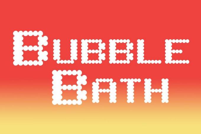 Bath - Bubble Letter Fonts