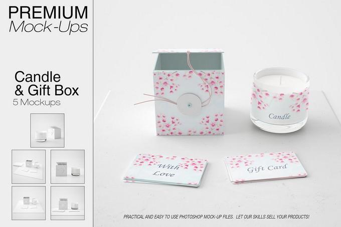 Candle & Gift Box Set