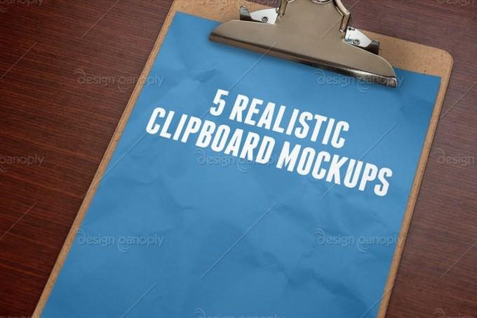 Clipboard Mockups