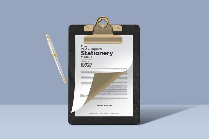 Clipboard Stationery