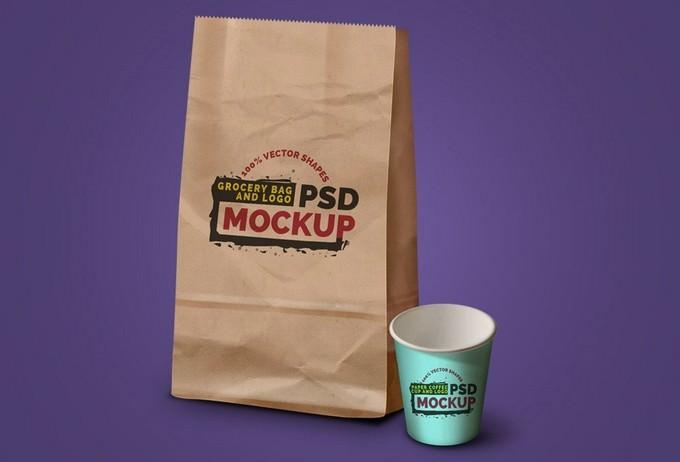 Coffee Cup & Logo Packaging