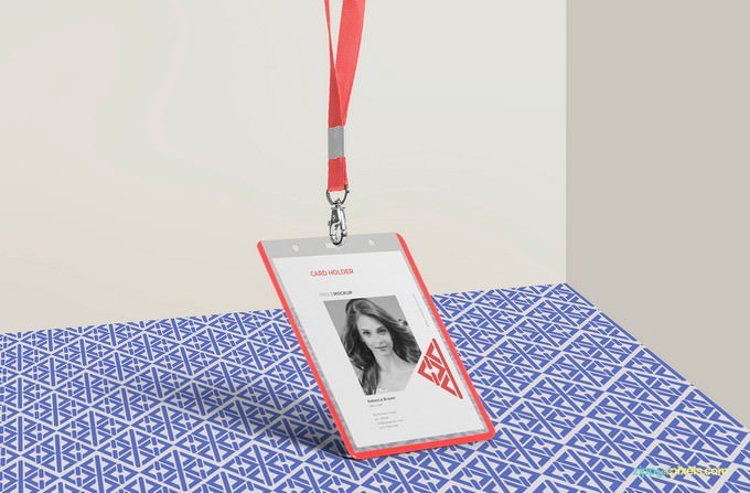 Corporate Hanging ID Card