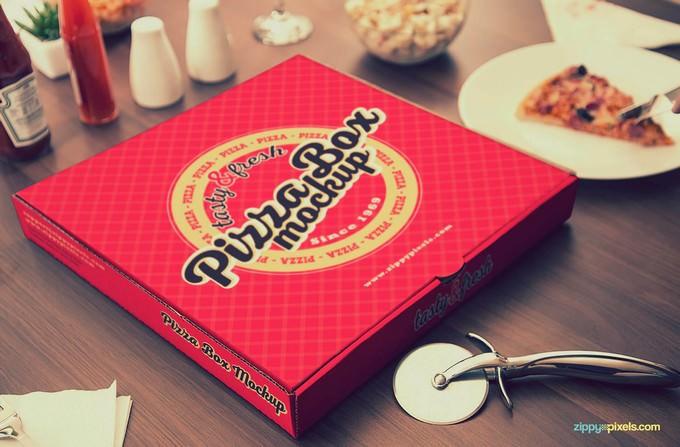 Customizable Pizza Box