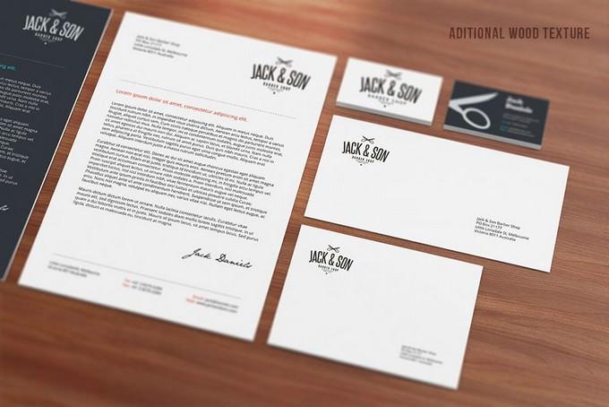 Stationery PSD Mock-ups