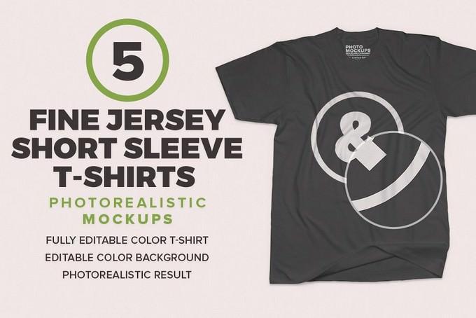 Fine Jersey Short Sleeve