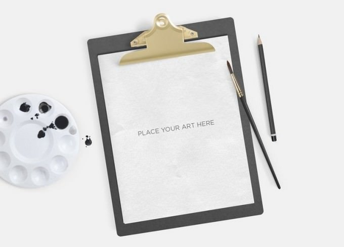 Free Clipboard PSD
