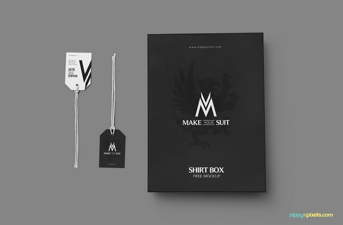 Customizable Product Packaging Mockup