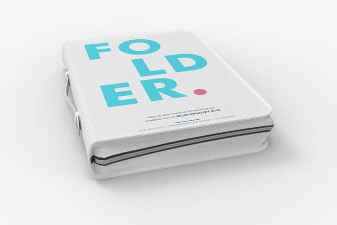 Folder Mockup PSD