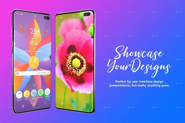 Galaxy S10 Plus Design Mockup