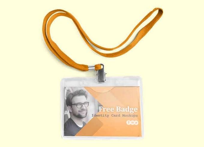 Hanging Badge Identity Card