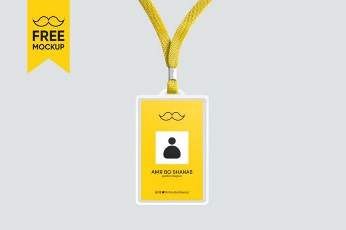 Hanging ID Card