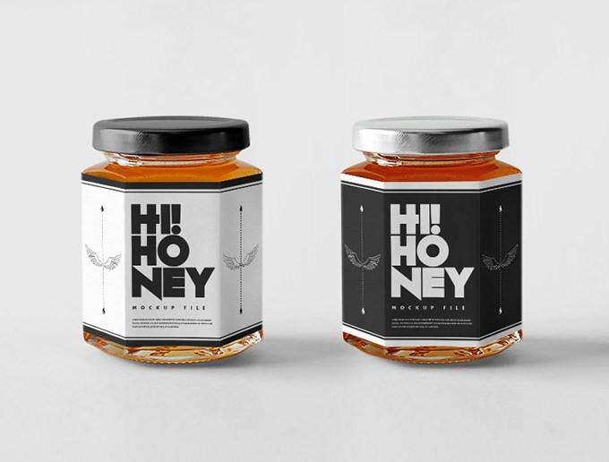 Honey Jar Mockup Set