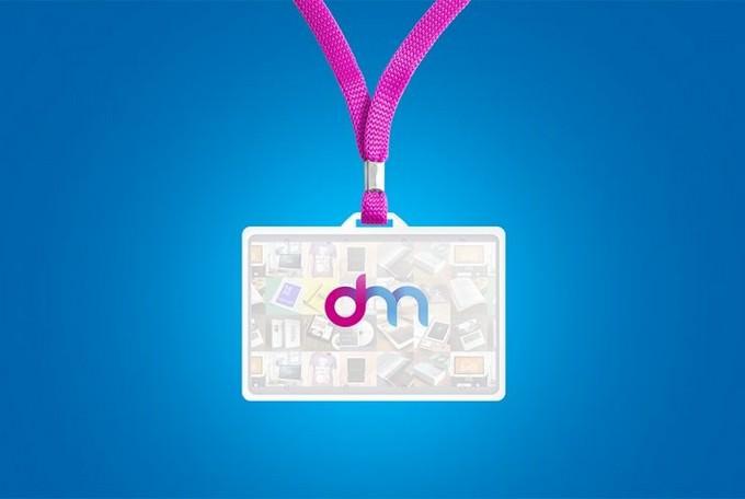 Hang identity card mock-up
