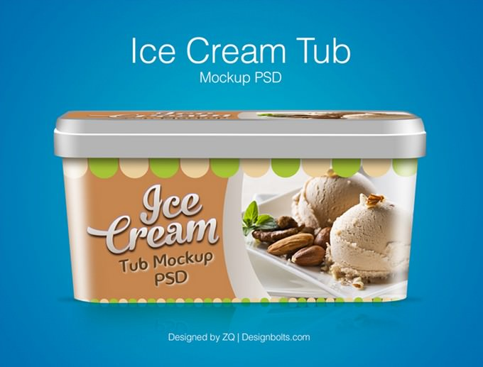Ice Cream Tub Packaging