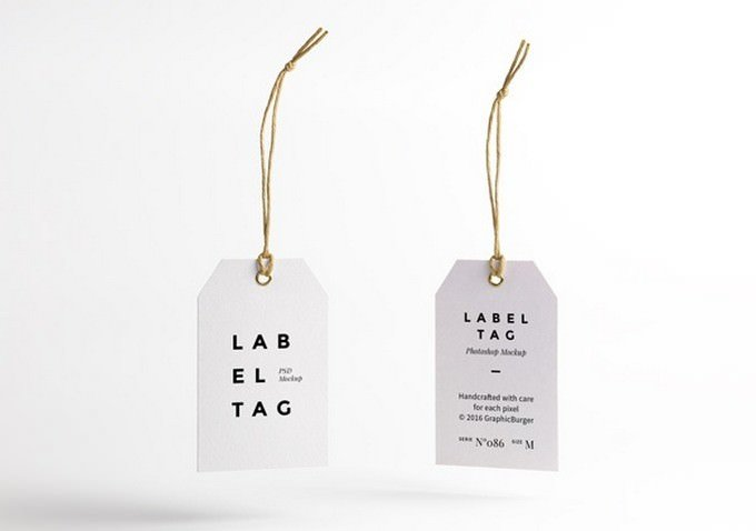 Label And Tag PSD