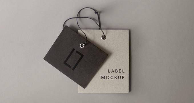 Label Brand Mockup