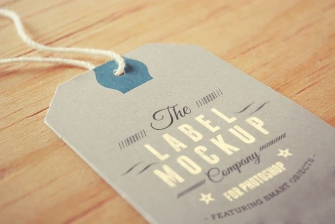 Label Tag PSD